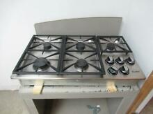 Dacor Renaissance 36  5 Sealed Burners Stainless Natural Gas Cooktop RGC365SNG