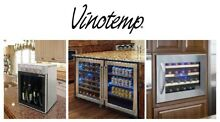 Vinotemp   Wine Coolers  Beverage Coolers  Ice Makers  Outdoor Fridges  Drawers