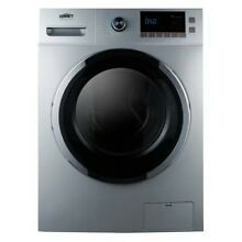 Summit SPWD2201 2 0 Cu  Ft  Washer Dryer Combo   Stainless Steel