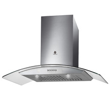 30  Wall Mount Kitchen Range Hood 3 Speed Push Button Control 709C