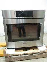 Bosch Benchmark 30  14 Cooking Modes SS Single Electric Wall Oven HBLP451LUC