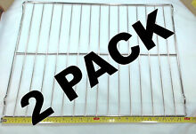 2 Pk  Oven Rack for General Electric  Hotpoint  AP2031155  PS249581  WB48T10011