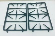 GE Gas range Oven Stove Model JGBP79WEA1WW Burner  Grate 2 pieces