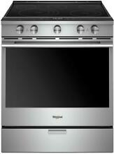 New  Whirlpool WEEA25H0HZ  30 Inch Slide In Electric Range with True Convection