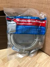 Watts Stainless Steel Washing Machine Connector  Single Hose   Model W48   48 in