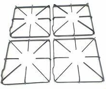 WB31K10012  Gas Range Burner Grate 4 Pack replaces GE  Hotpoint