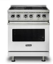 Viking Professional 5 Series 30 Inch Electric Freestanding Range VER5304BSS