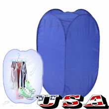 Portable Electric Air Clothing Dryer 800W Heater Drying Machine Lightweight