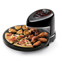 03430 Presto Pizzazz Plus Rotating Pizza Oven