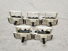5 PACK of Dryer Start Switches  part   3977456 Used FREE SHIPPING