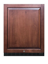 Summit AL55 24 W 4 2 Cu  Ft  Compliant Compact Refrigerator   Panel Ready