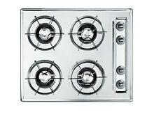 Summit NL03P 24 W 4 Burner Gas Cooktop With Battery Start Ignition