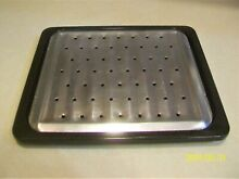 Enamel Broiler Pan and Rack for Toaster Oven   11 25  x 9 75  x 5 8  Deep