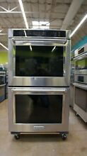 KitchenAid 30  Double Wall True Convection Oven