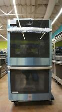 GE 27  Smart Electric Double Wall Oven   Wi Fi Enabled   JKD5000SNSS
