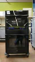 GE 27  Smart Electric Double Wall Oven   WiFi Enabled   JKD5000DNBB