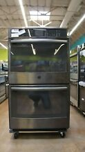 GE Profile 30  Electric Double Wall Convection Oven   PT7550BLTS   10 cu ft