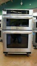 LG LWC3063ST 30  Smart Wi Fi Enabled Combination Double Wall Oven