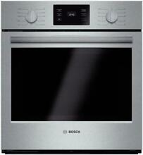 Bosch 500 Series 27  4 1 cu ft  EcoClean Single Electric Wall Oven HBN5451UC