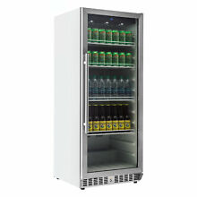 EdgeStar VBR440 10 14 Cu  Ft  Built In Commercial Beverage   Stainless Steel