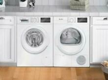 Bosch 300 Series WHT Front Load Washer   Ventless Dryer WAT28400UC   WTG86400UC