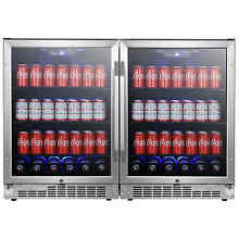 EdgeStar CBR1502SGDUAL   Beverage Center Refrigerators