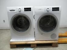 Bosch 500 Series Front Load 15 Progams Washer   Dryer WAT28401UC   WTG86401UC