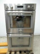 Thermador Professional Series 30  SS 16 modes Self Clean Double Oven POD302W