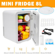 Protable Mini Fridge Small Refrigerator Freezer Single Door Compact 8L Cooler US