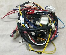 GE Profile Dryer Wire Harness  part   WE08X10063 Used FREE SHIPPING
