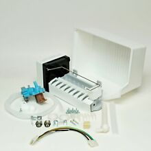 Choice Parts 2155469A for Whirlpool Refrigerator Ice Maker Bucket and Valve