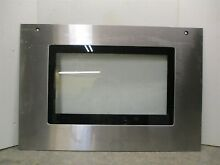 JENNAIR RANGE GLASS DOOR W STAINLESS STEEL PART  74008282