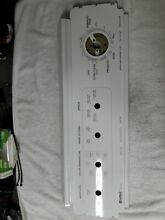 Kenmore 80 Series Washer Control Panel  part   3952300 Used Free Shipping
