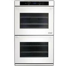 Dacor Distinctive 30  White 4 8 cu  ft  Double Electric Wall Oven DTO230W