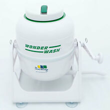NEW HOME RV OUTDOOR NON ELECTRIC PORABLE COMPACT MINI WASHING MACHMINE MINT