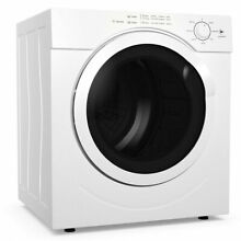 27lbs Electric Tumble Compact Laundry Dryer Stainless Steel 3 21 Cu  Ft