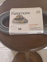 Kenmore Dryer Cord 5Ft Grey Brand New