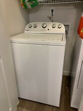 Used Whirlpool Washing Machine and Dryer  less than 2 years old