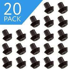 20 Pack  Compatible Grate Rubber Feet Bumpers   Heat Resistant   Durable Rubber