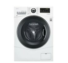 2 3 cu  ft  White Compact Front Load Washer and Electric Ventless Dryer Combo