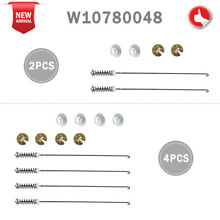 W10780048 Washer Suspension Rods Kit for Whirlpool Kenmore W10349191 W10257087