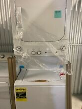 GE 93702 Top Load Stacked Washer   Dryer