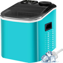 Auto Clear Ice Cube Machine Ice Maker Portable Countertop R134a LED Indicator