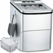 Portable Ice Maker  26Lbs 24H Self Cleaning Ice Maker Machine for Countertop  9