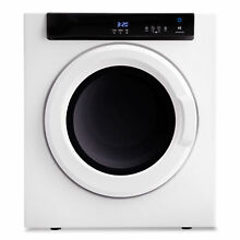 Electric Dryer Laundry Clothes Dryer Tumble Compact Stainless Steel 3 23 Cu Ft