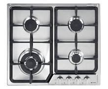 New Verona 24  Deluxe Gas Cook Top   Chrome Knobs