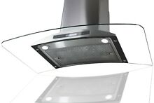 36  Wall Mount Stainless Steel Range Hood Kitchen Stove Ventless