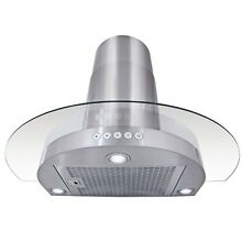 30  Stainless Steel Wall Mount Range Hood Kitchen Stove Cooking Vent Fan