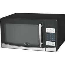 Oster 1000 Watt Digital Microwave Oven   Countertop Cooker w  Glass Turntable