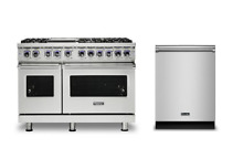 Viking Pro 7 Series 48  Gas Range   FREE Dishwasher   VGR74826GSS